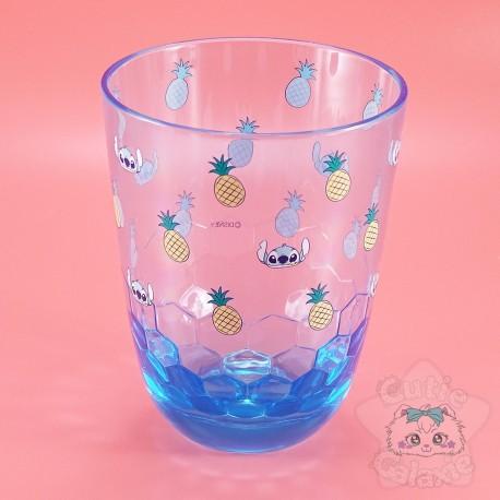 Verre Stitch Résine Effet Ruche Miel Lilo Et Stitch Disney Japon