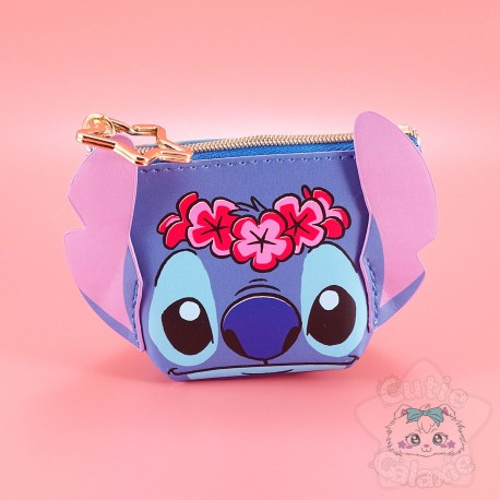 Pochette Stitch Relief Vahiné Disney Japan
