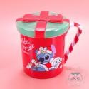 Tasse Stitch Lilo Et Stitch Avec Couvercle Edition Noël Disney Japon