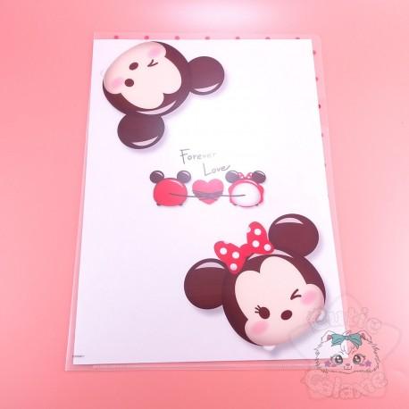 Range Document Tsum Tsum Minnie Mickey Disney Japon
