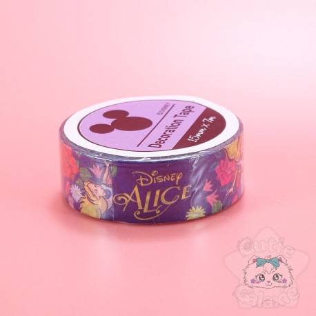 Washi Tape Alice Au Pays Des Merveilles Disney Japon