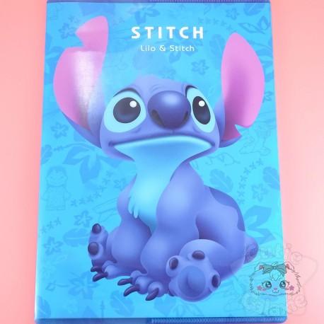 Cahier Stitch Bleu Disney