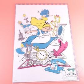 Range Document Quadrillé Alice Au Pays Des Merveilles Disney Japan