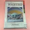 Petit Classeur Star Wars Baby Yoda Grogu Disney Japon