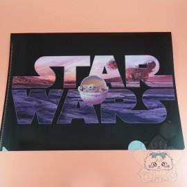 Range Document Star Wars Baby Yoda Grogu Disney Japon