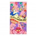 Grande Serviette Alice Au Pays Des Merveilles Spirale Disney Japon