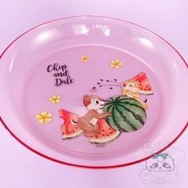 Assiette Dessert Pastèque Tic Et Tac Disney Japon