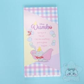 Bloc Note Quadrillé Dumbo Disney Japon