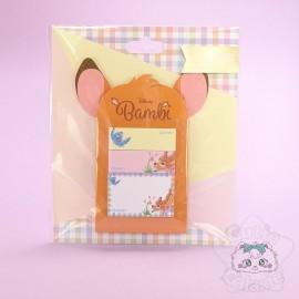 Porte Bloc Note Bambi Disney Japon