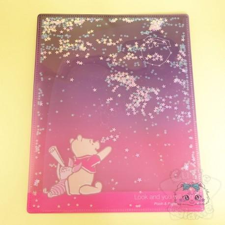 Double Range Feuilles Pailleté Winnie L'ourson Disney Japon