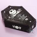 Boite Sculptée Cercueil Monsieur Jack L'Etrange Noël Mr Jack Tim Burton Disney Japon