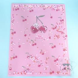 Double Range Document Glitter Strass Marie Aristochat Disney Japon