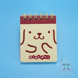 Mini Carnet de Note Pompompurrin Sanrio