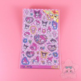 Planche 30 Stickers Personnages Sanrio