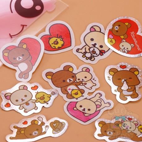 Stickers Rilakkuma Coeur