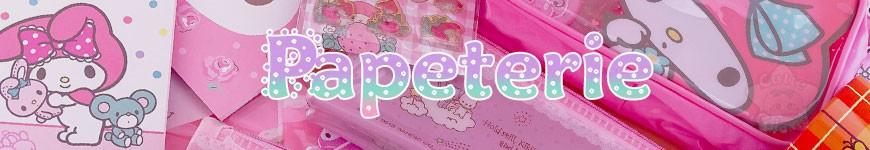 Papeterie -<p>Papeterie kawaii du Japon de vos marques et personnages préférés : San-X, Sanrio, BonbonRibbon, Rilakkuma, My Melody, Pusheen, Molang, Cinnamoroll, My Melody..</p><p>Des cahiers, bloc-note, mémo, trousses, crayons et stylos .. le tout kawaii venant du Japon !</p><p></p>