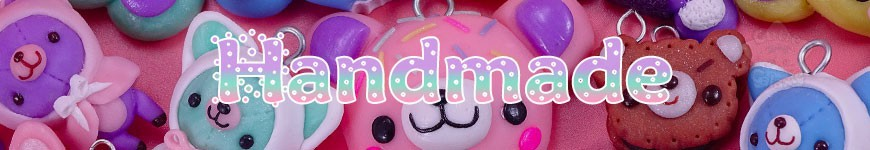 Handmade By CG -<p>Découvrez nos créations kawaii handmade (fait main) : Des straps kawaii en fimo, Art Dolls créatures articulées réalistes, pochettes téléphone kawaii !</p><p></p><p>Et bien plus à venir !</p>