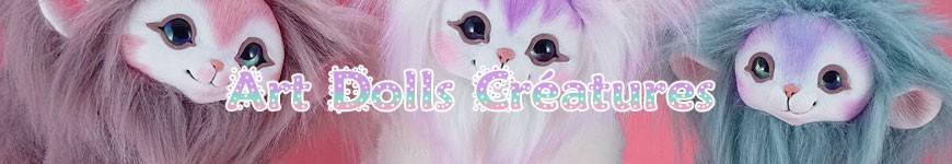 Art Dolls Créatures -<p>Cutie-galaxie.fr vous propose à l'adoption ses poupées Art dolls entièrement faites à la main, toute douces et réalistes, qui sont sont entièrement articulées. <br />Nous créons nos créatures avant tout par passion, de ce fait nous vous offrons des créatures de bonne qualité, toute douces et soignées ! Par amour des animaux, bien évidemment AUCUNE vra...</p>