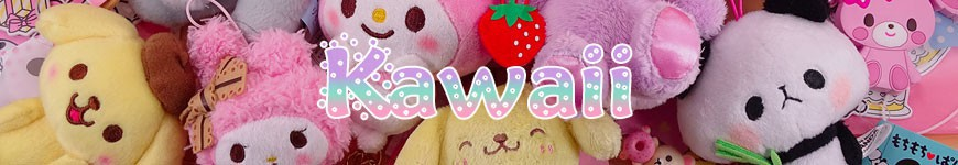 Kawaii - <p>Produits kawaii du Japon, Peluches, Straps, Sacs, Porte-Monnaies..</p>