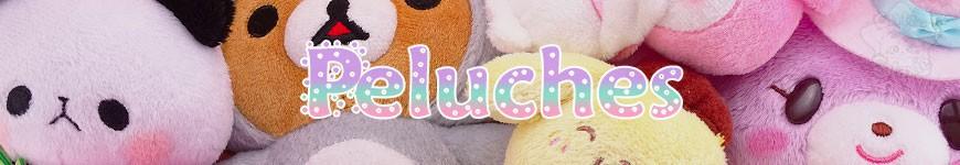 Peluches Et Straps -<p>Nos peluches et straps kawaii tout doux mignons et rigolos du Japon (Rilakkuma, Korilakkuma, Pusheen, Molang, Bonbonribbon, Pompompurrin, Hello kitty, Koguma, My melody, Panda, Little twin stars…) et de grandes marques (Sanrio, san-X, DISNEY) mais aussi de personnages kawaii inconnus en France !</p><p>A offrir en cadeau ou à s'offrir, pour colorer so...</p>