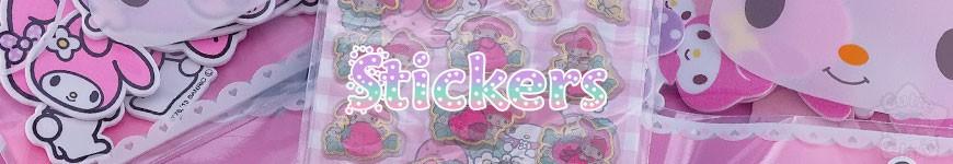 Stickers, Mémos -<p>Nos stickers auto-collant kawaii du Japon pour tout décorer ! Donnez à vos meubles une touche de gaieté !</p><p>Rilakkuma, My Melody, Molang, Pusheen, Little twin stars, Cinnamoroll, Bonbonribbon etc... sont de la partie !</p><p></p>
