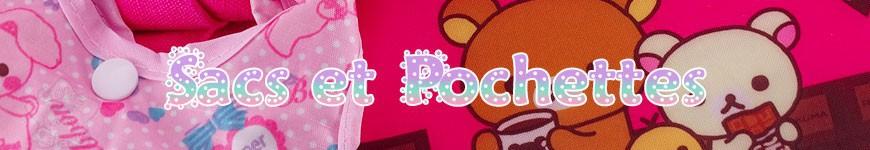 Sacs et Pochettes - <p>Faites vos courses et shopping avec vos mascottes kawaii préférées du Japon !</p>